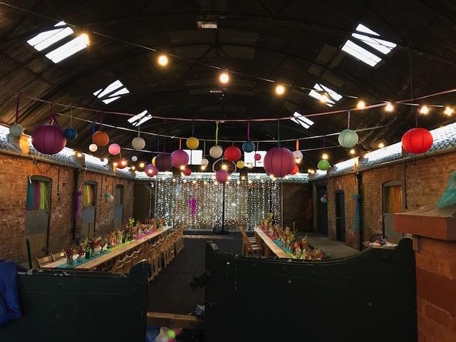 Crayke Manor Festoon Lighting Fairy Light Curtain