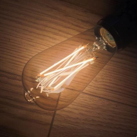 Edison Vintage Tinted Teardrop Bulb