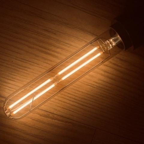 Edison Vintage Tinted Tubular Bulb