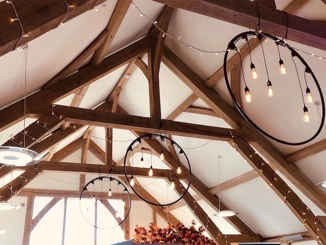 Edison Bulbs Hoops