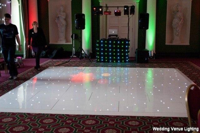 Hazlewood Castle - White Starlight Dance Floor - Black