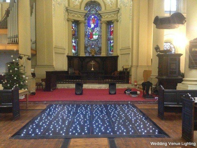 Holy Trinity Church - Leeds - Black Starlight Dance Floor