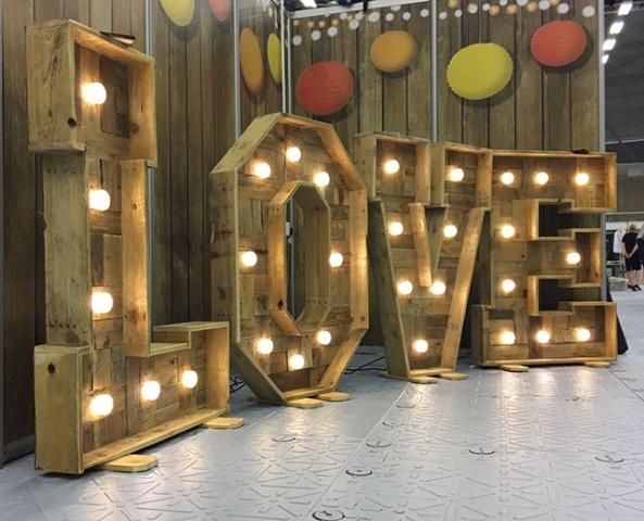 Wedding Venue Lighting