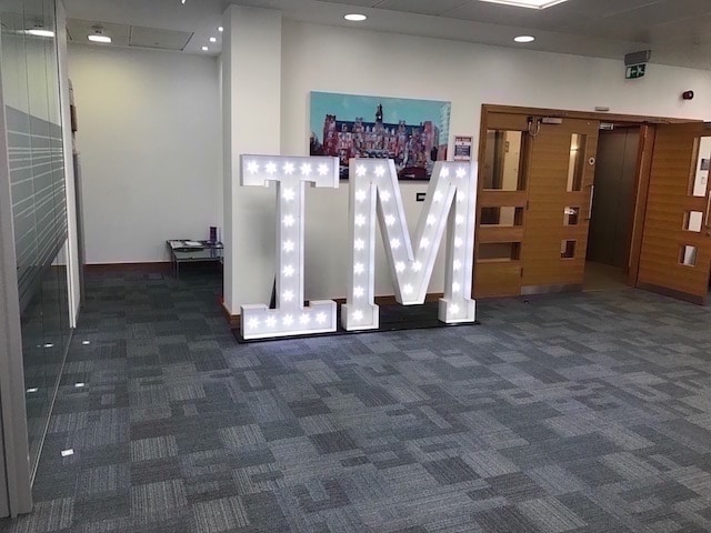 Light Up Letters Hire
