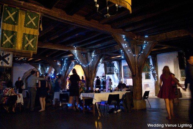 Merchant Adventurers Hall York Fairy Lights Up