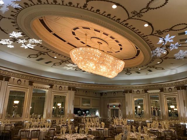 Midland Hotel Bradford - Up Lighting - Love Letters - Image