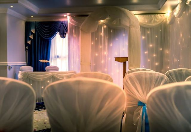 Starlight Wedding Arch Hire