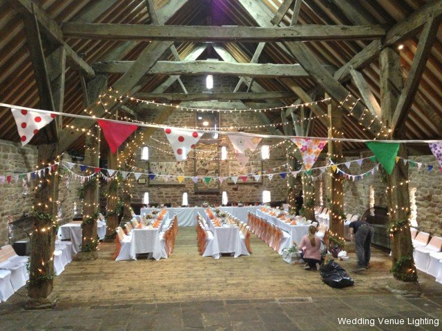 The Manorial Barn - Whiston - Fairy Light - White ...