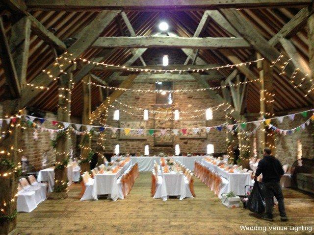 He manorial barn whiston fairy light white starlight dance the manorial barn wedding junglespirit Gallery