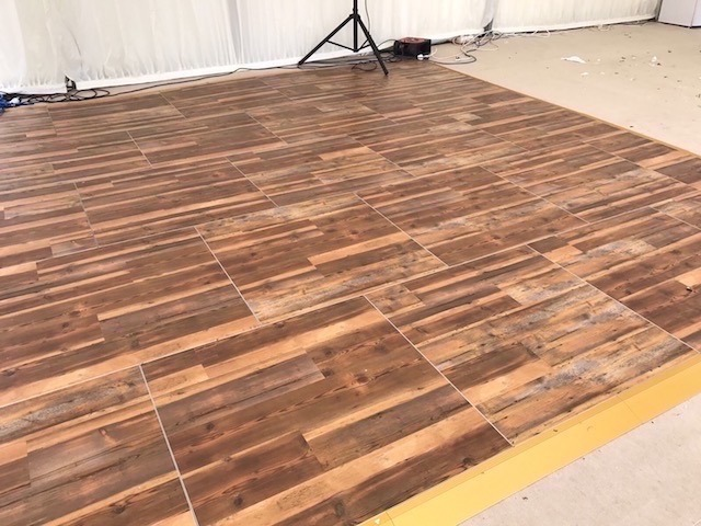 Parquet Wooden Dance Floor Hire