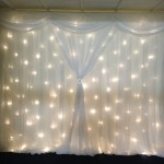 Trieste Starlight Backdrop Hire