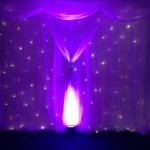 Trieste Starlight Backdrop With Colour Washing Hire