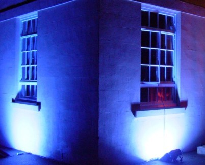 Outdoor Uplighting Hire | Building Illumination