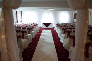 White Aisle Carpet Runner