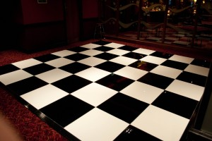Black and White Dance Floor Packages