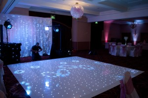 White Starlight Dance Floor
