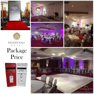 Bagden Hall Complete Package Price