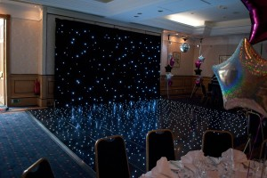 Black Starlight Dance Floor