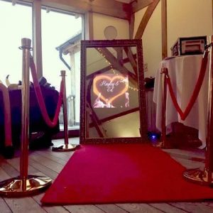 Sandburn Hall - Mirror Photo Booth