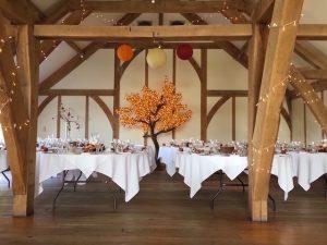 Sandburn Hall - Led Maple Leaf Tree