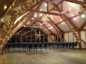 Sandurn Hall Fairy Lights