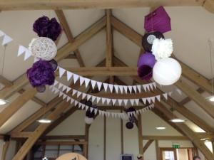 Sandburn Hall Customers Own Decorations
