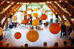 Sandburn Hall Fairy Lights & Hanging Lanterns