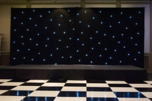 Black and White Dance and Starcloth