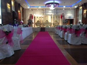 Pink Aisle Carpet Hire