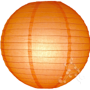 Orange Hanging Lantern