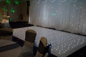 White Starlight Dance Floor Package Prices