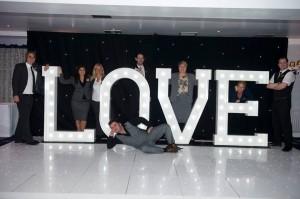 Light Up Illuminated LOVE Letters