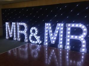 Mr & Mr Letters