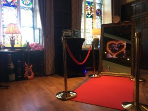 Champagne Gold Mirror Photo Booth Hire