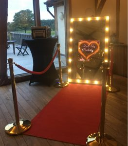 Rustic Mirror Photo Booth Hire