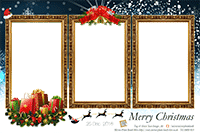 Christmas Mirror Photo Booth Print Out