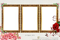 Floral Mirror Photo Booth Print Out