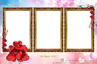 Hearts Mirror Photo Booth Print Out