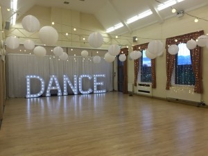 Light Up DANCE Letters