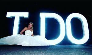 Light Up I Do Letters