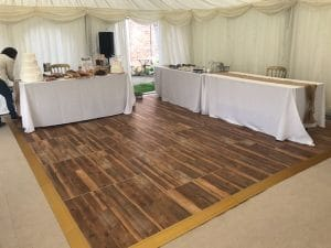 Wooden Effect Dance Floor