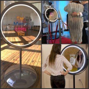 Denton Hall - Beauty Mirror Photo Booth