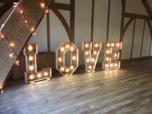 Sandburn Hall Rusitc Love Letters