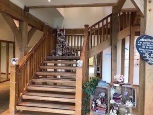 Sandburn Hall - Staircase Fairy Lights