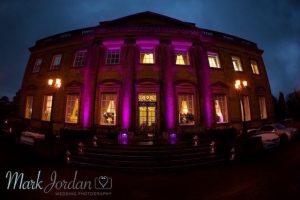 Denton Hall - Outdoor Up Lighting - Building Illumination