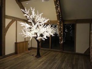 Sandburn Hall - LED Blossom Leaf Tree