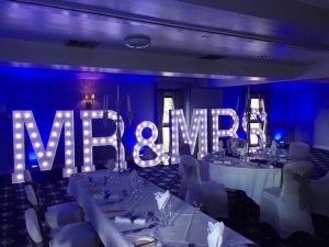 Waterton Park Hotel - County Suite - Light Up Mr & Mrs