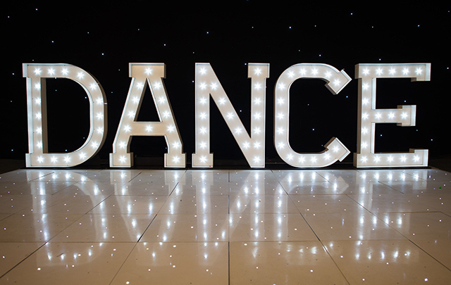 Light Up Dance Letters Illuminated Dance Letters Big
