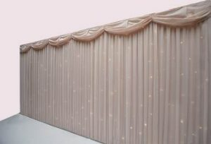 Blush Pink Starlight Backdrop Hire