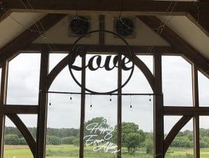 Giant Love Hoop